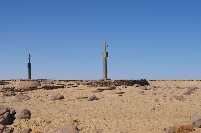 初めてヨーロッパ人がナミビアの地に立った歴史的な場所