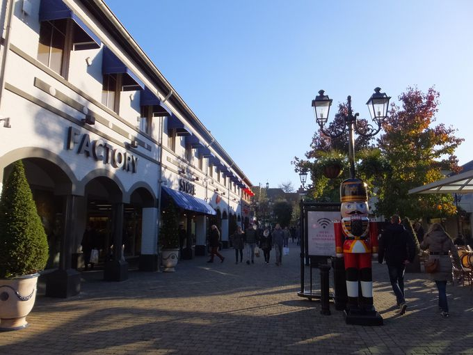 まるでヨーロッパの小さな町を散策