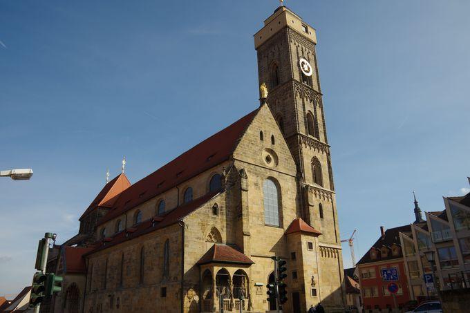 ゴシックとバロックが共存する「オーベレプファレ教会」