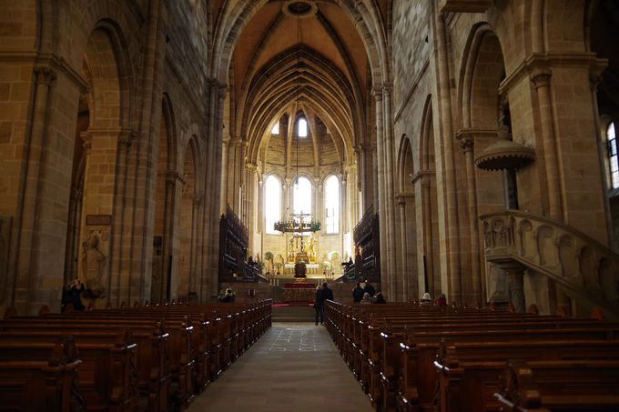 「バンベルク」の教会の中心「聖ゲオルク大聖堂」