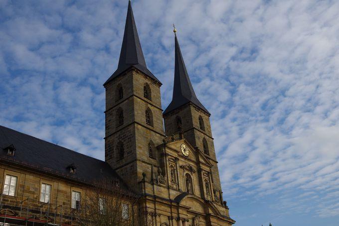 町を一望できる「聖ミヒャエル修道院」
