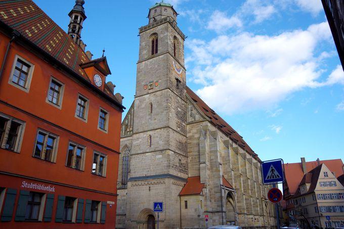 町のシンボル「聖ゲオルク大聖堂」
