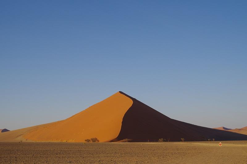 ナミビアの世界自然遺産ナミブ砂海