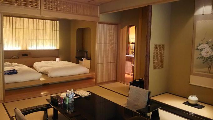 これぞ日本の建築美という部屋で時間を忘れて寛ぐ