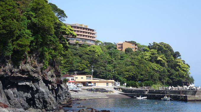 最高の立地に建つホテルからは太平洋が一望