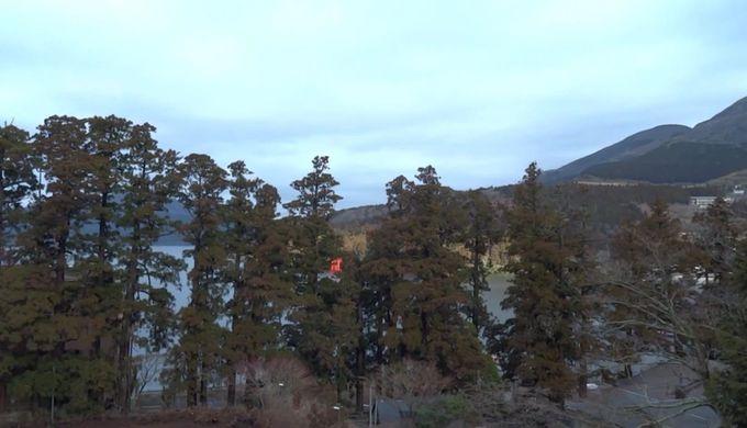 元箱根港から近い立地は芦ノ湖観光に最適