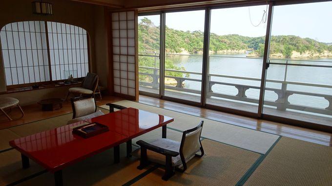 限定11室の客室から見る景色はあなただけの松島湾