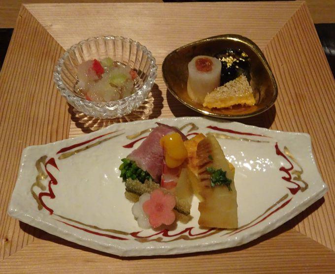 伊勢志摩の里海の素材を活かした懐石料理は絶品