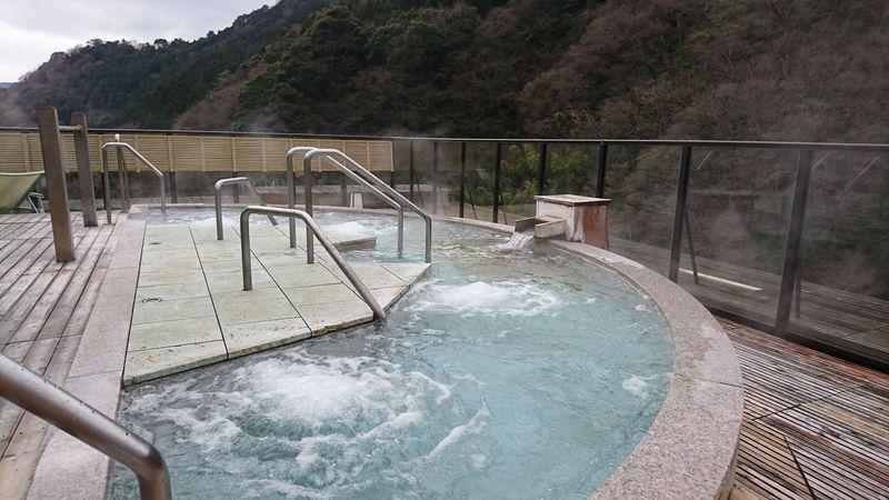 湯河原を見降ろす絶景露天風呂「大空」で至福の温泉を