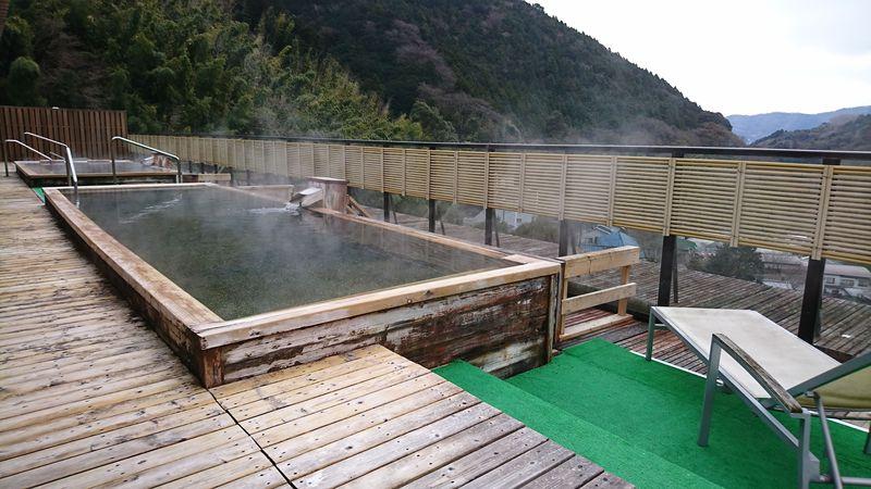 関東の奥座敷 奥湯河原温泉「山翠楼」絶景の天空温泉に癒される