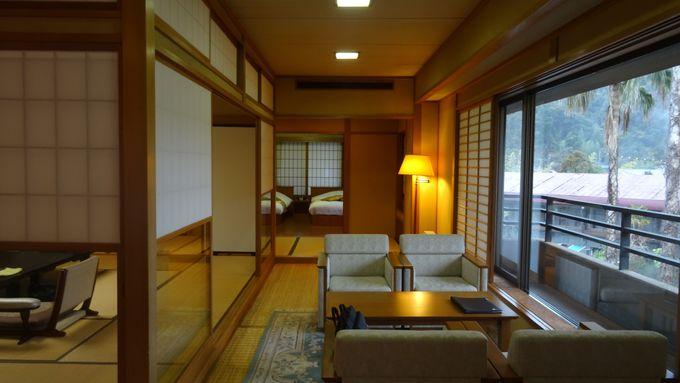 趣の違う4棟に自然や庭園と融合する客室が全26部屋