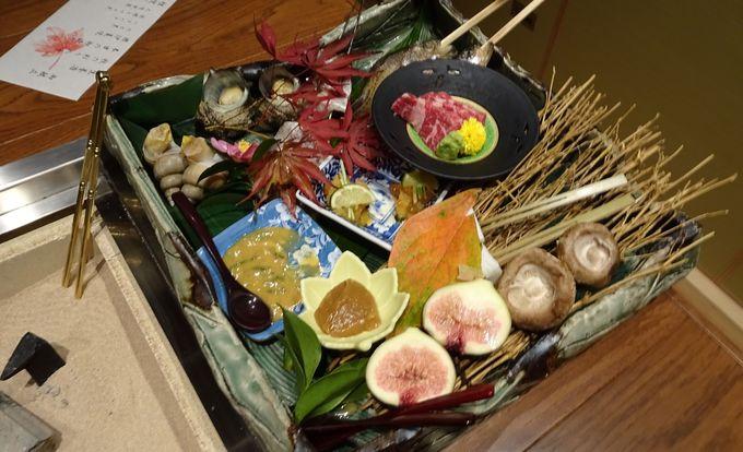 間人ガニに負けない「炭平」ならではの漁村料理