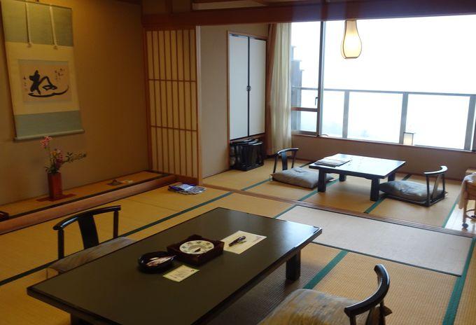 タイプの違う全11室の客室は滞在の目的に合わせて選べる