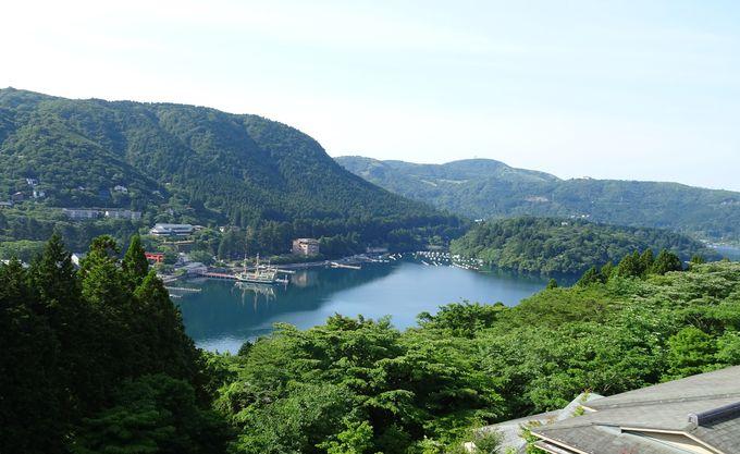【桃源台・元箱根】芦ノ湖が目の前!