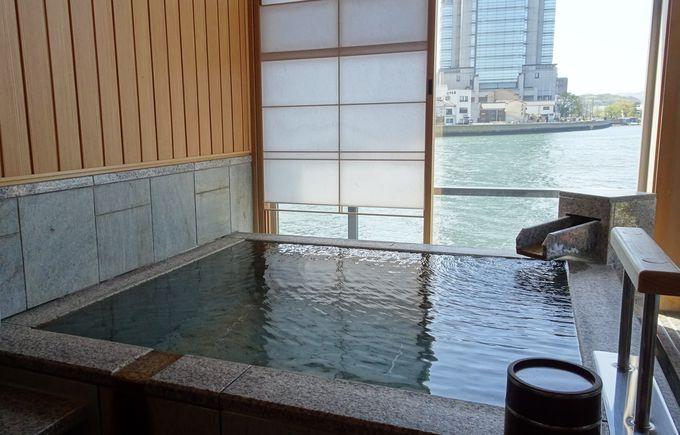プライベート庭園もある「水の音」は宍道湖が目の前