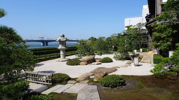 最上級の特別室 湖と庭の別邸「美文」で至福の滞在を