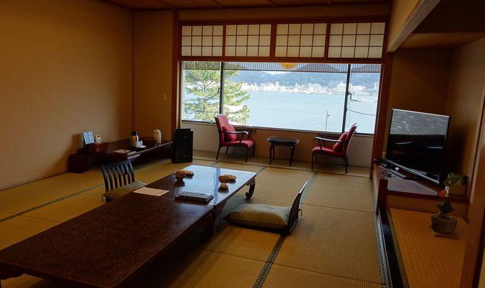 広々とした客室は貴賓室を含む僅か7室のみ