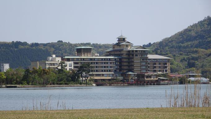 はわい温泉一番人気の「望湖楼」は歴史ある大型旅館