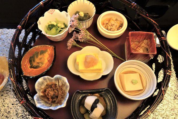 食と芸術が融合した創作日本料理を堪能