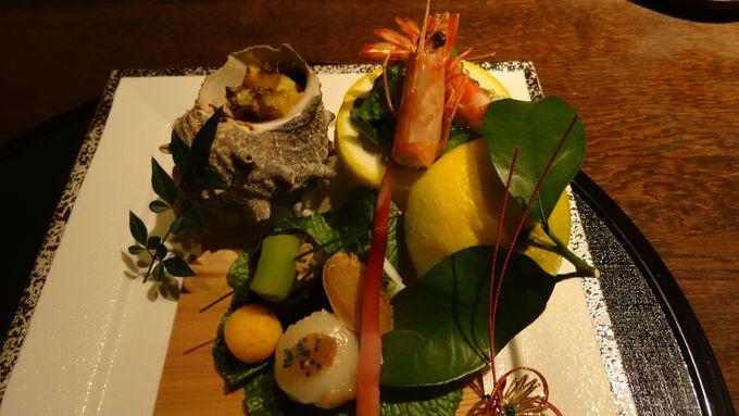 伊豆の恵みを五感で楽しめる「遊食懐石」