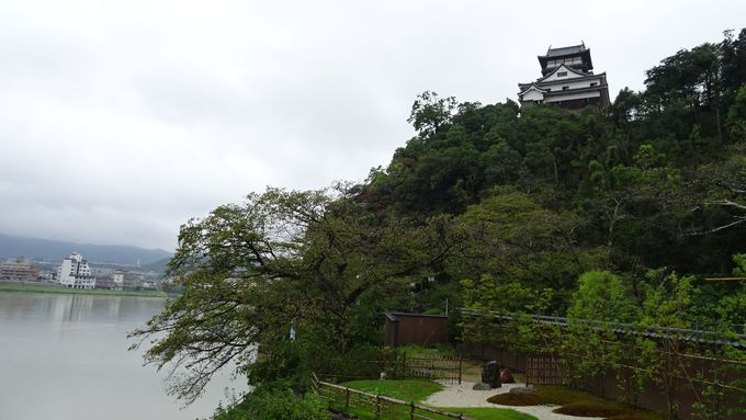 木曽川と犬山城の両方を同時に眺められる特別室