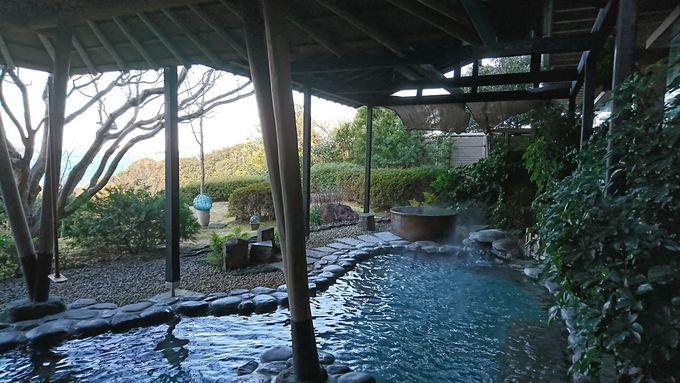 癒しのお湯と美肌の温泉の両方を楽しむ