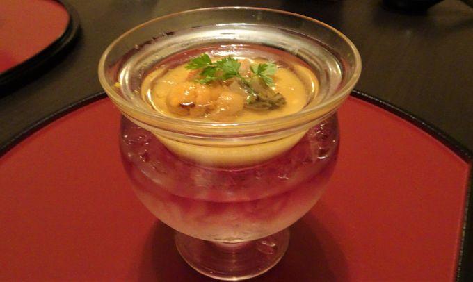 旬の食材が満載の川奈流創作懐石料理