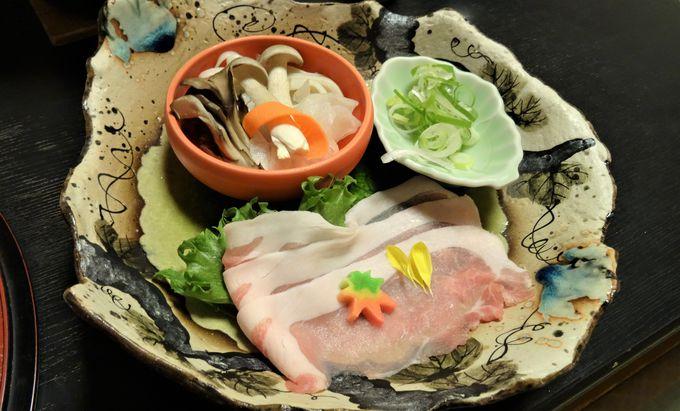 三河湾の幸を使った料理に舌鼓