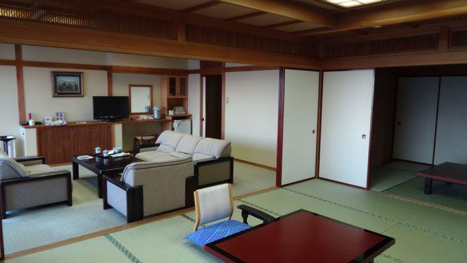選べる客室は3棟からなる全60室