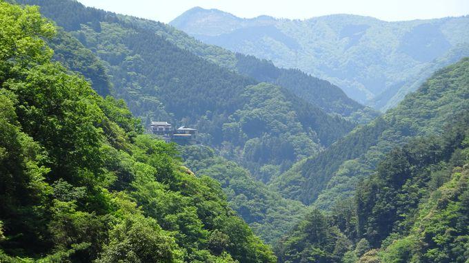 日本三大秘境の祖谷渓谷にまさかの一軒宿