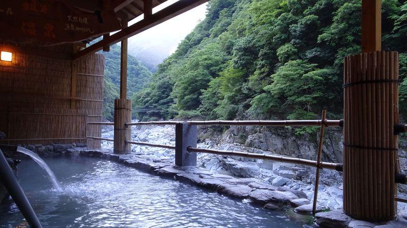 祖谷渓の一軒宿「和の宿ホテル祖谷温泉」で最高の温泉と大自然を