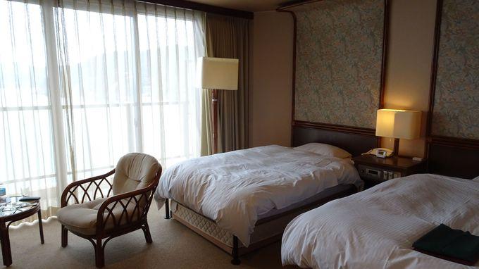 全室オーシャンビューの客室は魅力の全84室