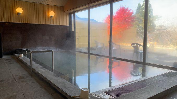 無料で楽しめる日帰り入浴施設「満天の湯」は眺望抜群