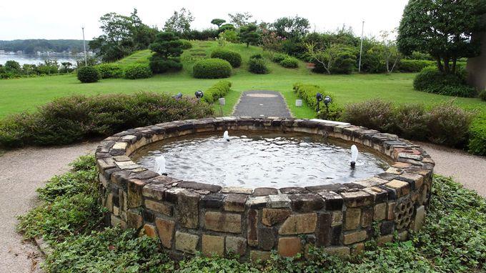 見て楽しむ庭園と散策して楽しむ庭園