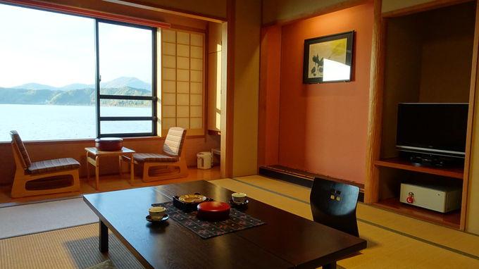 十二単衣の重ね色をモチーフした客室は僅か6室