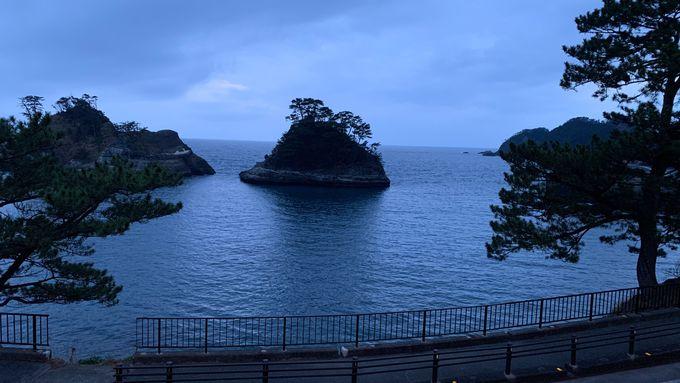絶景の堂ヶ島がすぐ前の「セカンドルーム」で寛ぐ