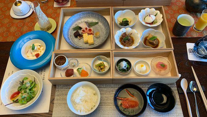 朝食は和の料理長による世界に誇る日本の朝ごはん