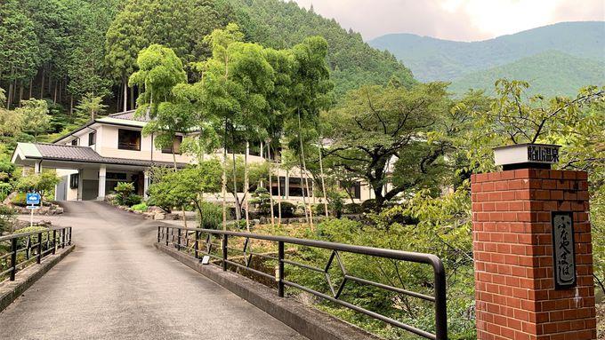 山あいの静かな一軒宿 山梨県「船山温泉」で美食と温泉を楽しむ