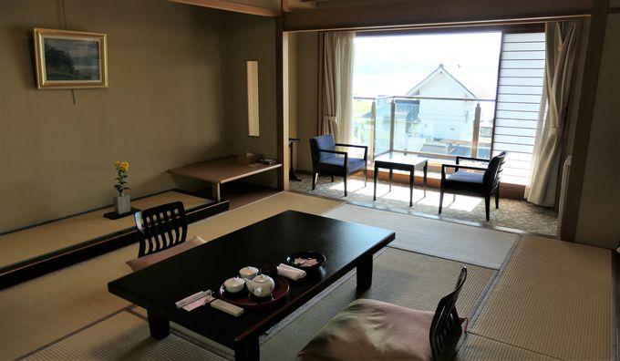 旅の目的に合わせて選べる客室は全49室