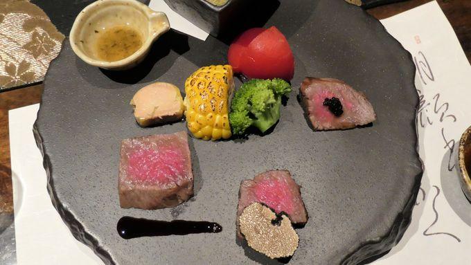 伊豆の四大豪華食材を使った夕食は圧巻
