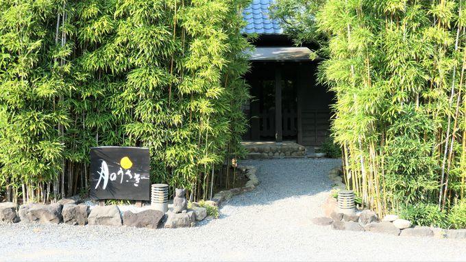 夢のような滞在は竹林に囲まれた歴史ある母屋から始まる