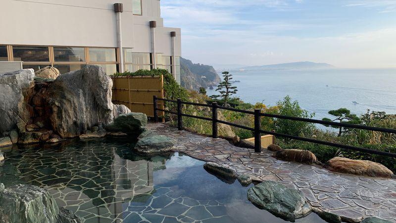 静岡・駿河湾の海の幸と絶景を満喫「ホテルアンビア松風閣」
