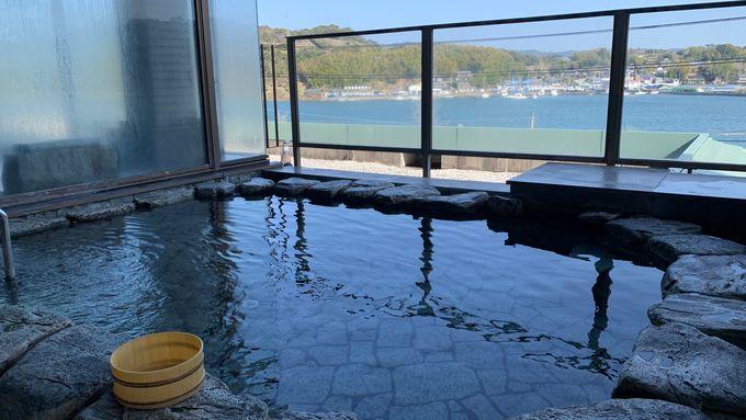 浜名湖の景観が眺められる大浴場の温泉は隠れた名湯