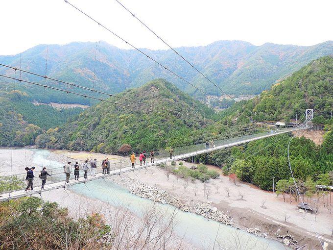 奈良県が誇る日本一!「谷瀬の吊り橋」は隠れた名所?!