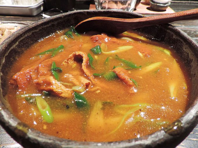 讃岐仕込みのモチモチ太麺が旨い!出汁が効いたカレーうどん