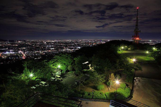 レストハウス展望台からの夜景