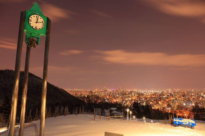 地元の若者に大人気「旭山記念公園」
