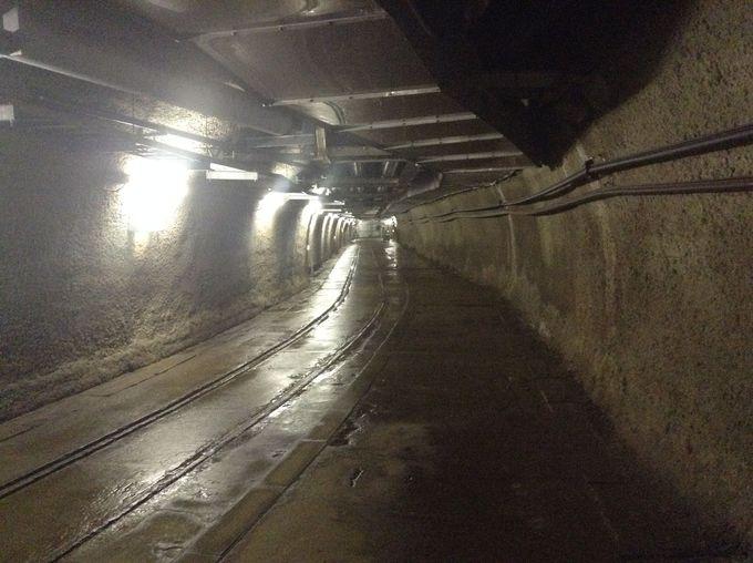 これが、海底下140mの非日常空間!