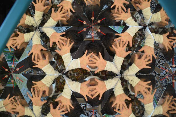プリ蔵くんで世界で1枚の万華鏡ショット!