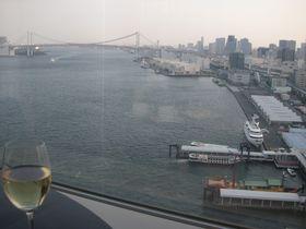 レインボーブリッジ一望のクラブラウンジが凄い!ホテルインターコンチネンタル東京ベイ